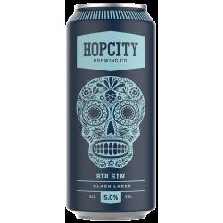 Hop City 8th Sin Black Lager